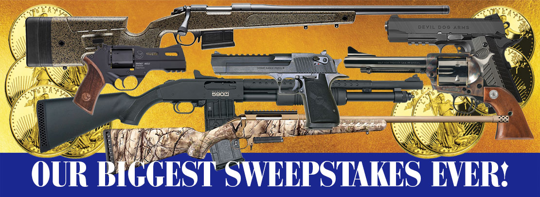 Free gun giveaways and sweepstakes 2018